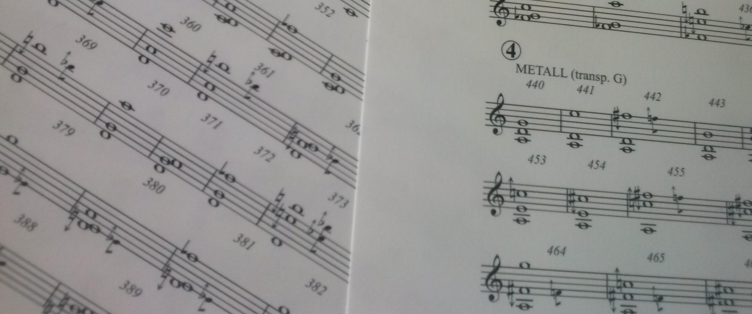 Neues Orchesterwerk fertiggestellt