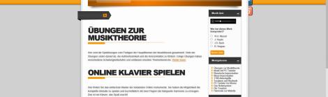 Theorie üben: Die Seite www.musikgrad.de
